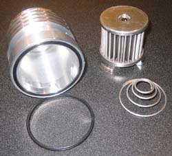 K&P Engineering - Stainless Micronic Oil Filter - Honda/Kawasaki/Yamaha - Most Models/See Application Chart Inside/35 Micron Filter/7x Flow Of Paper