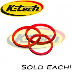 K-Tech Suspension - Fork Travel Indicator 47mm - Universal/Low Friction/Requires Fork Disassembly For Installation/SOLD EACH