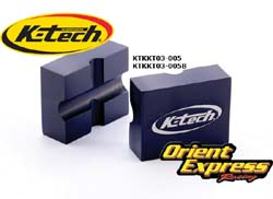 K-Tech Suspension Tools - Fork Piston Rod Clamp 12.5mm & 14mm