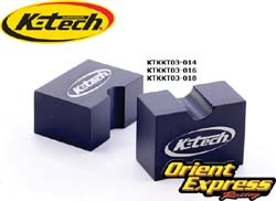 K-Tech Suspension - Tools - RCU Piston Rod Clamp/16mm ID