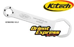 K-Tech Suspension - Tools - Front Fork Top Cap Spanner Wrench/WP KTM SX 2007->/Box Ends