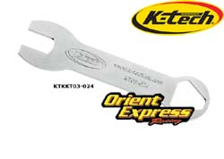 K-Tech Suspension - Tools - Front Fork Top Cap Spanner Wrench/K-Tech DDS/25SSK Cartridge Kit;KTR-2 & KTR-3 Front Fork