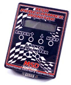 MSD Ignition - Handheld Programmer/Monitor - For MC4 Digital Ignition/Adjustable