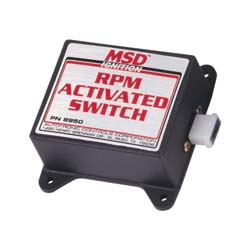 MSD Ignition - RPM Activated Switch - 4 Cylinder/Activate/Requires RPM Module/Multiple Process Control