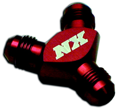 Nitrous Express - Fitting - Red/Billet/Pure-Flo/