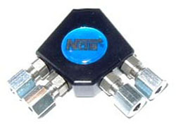 NOS - Nitrous - Distribution Block - Pro Race/1 In & 4 Out/ 1/8