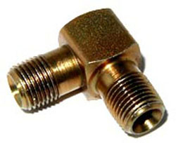 NOS - Nitrous - Fitting - Male Pipe Nipple/Brass/ 1/8