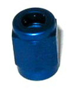 NOS - Nitrous - Fitting - Tube Nut/Blue/-3AN x 3/16