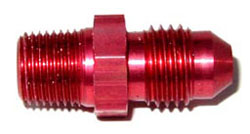 NOS - Nitrous - Fitting - Flare To Pipe/-4AN x 1/8