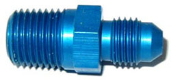 NOS - Nitrous - Fitting - Flare To Pipe/-4AN x 1/4