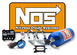 NOS - Nitrous - Bottle - 40oz/2.5lb Capacity/Electric Blue Finish/Mini Hi Flow Valve