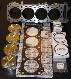 Orient Express 84mm Big Bore Kit Suzuki GSX 1300R Hayabusa 1999 2007 Pistons Gasket Core Exchange Required