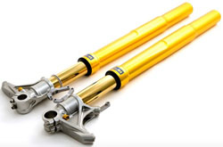 Ohlins Suspension - Universal - 2008/43mm Road & Track Superbike Fork/FG324/Adjustable Preload, Compression, Rebound/800mm Length/120mm Stroke/Inverted
