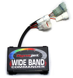 Dynojet - Wideband Commander 1 - Base Unit/Kit With 12v Power Supply/Control Module/Bosch 5 Wire LSU4.2 Wide Band Sensor & Harness/Includes Sensor Boss & Plug