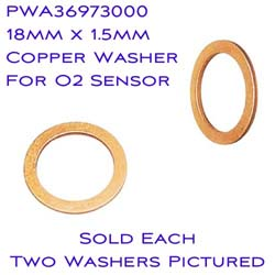 Power Commander - Accessory - Copper Washer - 18mm ID/For Wideband Commander O2 Sensors Or Plug
