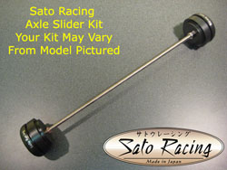 Sato Racing - Axle Sliders Front