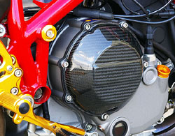 Sato Racing - Carbon Fiber Clutch Cover