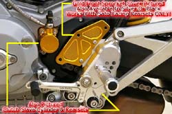 Sato Racing - Front Sprocket Cover