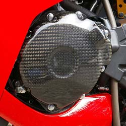 Sato Racing - Carbon Fiber Stator Cover
