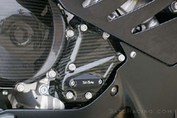 Sato Racing - Carbon Fiber Engine Cover