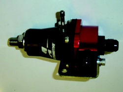 Orient Express Turbo Systems - Aeromotive - Billet Fuel Pressure Regulator/Adjustable 30-70psi/Single Entry/Single Exit