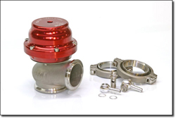 Orient Express Turbo Systems - Tial V44mm Wastegate/V-Band Connector/High Temp NiCrFe Alloy Valve/347ss Housing/Nomex Reinforced Actuator Diaphragm/17-7ss High Temp Stable Spring/CNC Machined