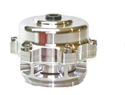 Tial Sport - 50mm Blow Off Valve/Billet Aluminum/V-Band Connector/Viton O-Ring/Teflon Lubricated Stem & Guide/Nomex Reinforced Actuator Diaphragm/Clear Anodized