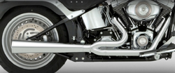 Vance & Hines - Pro Pipe HS 2 Into 1 Exhaust