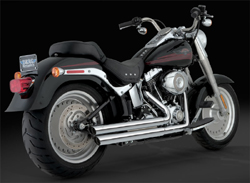 Vance & Hines - Double Barrel Staggered Exhaust