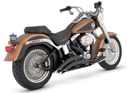 Vance & Hines - Big Radius Black Exhaust