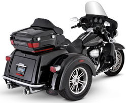 Vance & Hines - Widow Dual Black Slip On Exhaust
