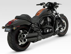Vance & Hines - Widow Slip Ons Black Exhaust