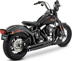 Vance & Hines - Bigshot Staggered Black Exhaust