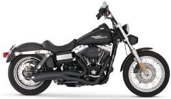Vance & Hines - Big Radius 2 Into 1 Black Exhaust