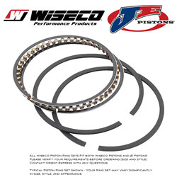 JE Pistons - Piston Rings