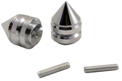 Yana Shiki - Bar End Weights - Yamaha - Many Late Models/See Application Chart Inside/CNC Machined Billet Aluminum/Chrome/