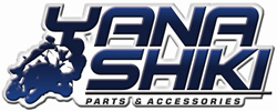 Yana Shiki - LED Bolt Kit - Two License Plate Bolts With Red LED's