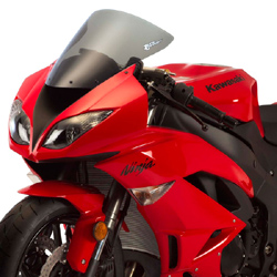 Zero Gravity SR Windscreen Kawasaki ZX 6R Ninja 2009 2014 ZX 10R Ninja 2008 2010 Stock Replacement Light Smoke Optically Correct Pre Drilled