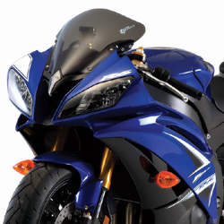 Zero Gravity SR Windscreen Yamaha YZF 600 R6 2008 2014 Stock Replacement Dark Smoke Optically Correct Pre Drilled