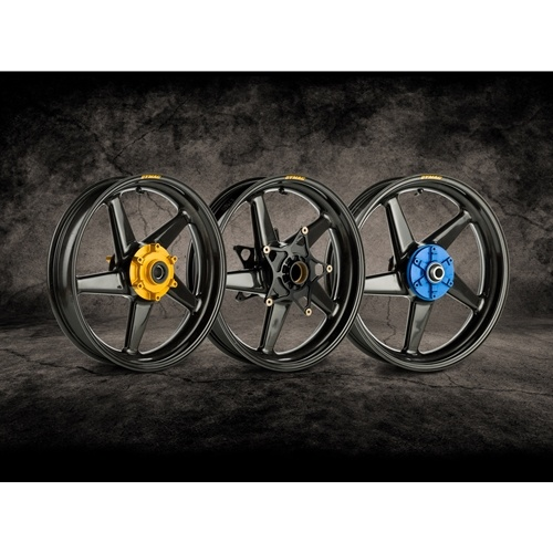 Dymag Carbon Race CA5 Carbon Fiber Wheels 5 Spoke Ultra Lightweight Pair