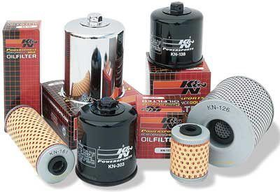 K&N Engineering - High Performance  Oil Filter - Suzuki - OEM # 16510-05A00 - Most Early Models (GSXR) Before 1987 - Spin On Style Large
