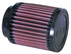 K&N Engineering - High Performance Air Filter - Universal - Round Straight Element/Centered Flange/4