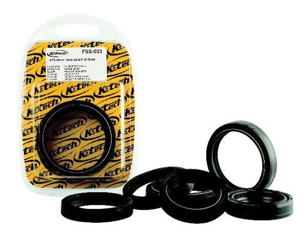K-Tech Suspension - Showa Fork Oil Seals - Forks/Genuine Showa/45mm x 57mm x 11mm/Pair