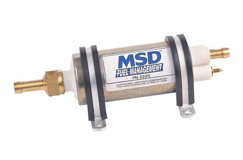 MSD Ignition - Fuel Pump - 43 GPH Gallons Per Hour/83 PSI/High Performance/High Flow