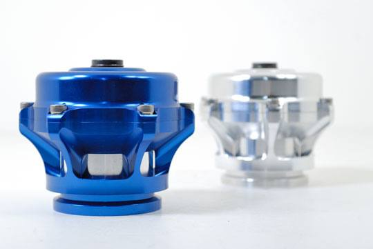 Tial Sport - 50mm Blow Off Valve/Billet Aluminum/V-Band Connector/Viton O-Ring/Teflon Lubricated Stem & Guide/Nomex Reinforced Actuator Diaphragm/Blue Anodized