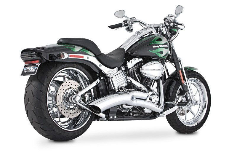 Vance & Hines - Big Radius 2 Into 1 Exhaust