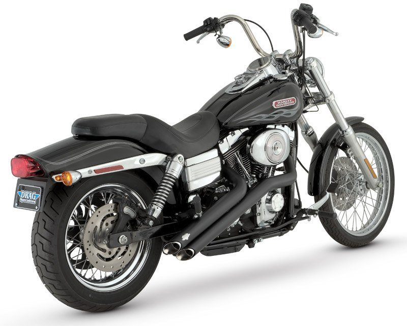 Vance & Hines - Shortshots Black Exhaust