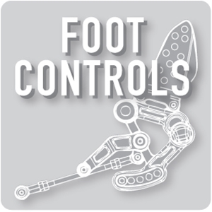motorcycle foot controls