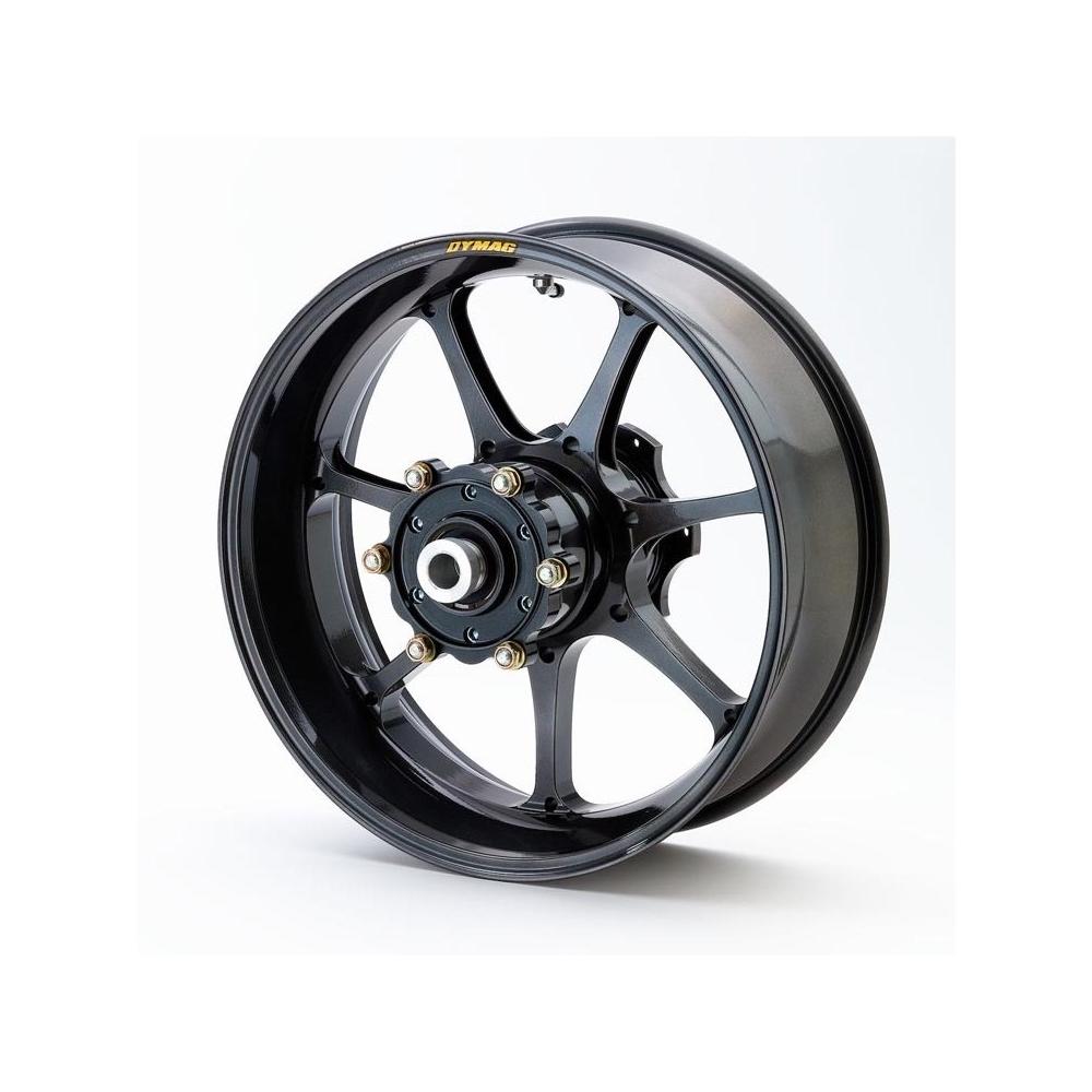 Rear wheel set Black Suzuki SV650 2003-2009  Captive wheel spacers