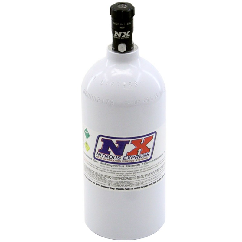 NX Bottle - #11025 2.5 lb Bottle with Motorcycle Valve